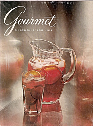 Gourmet Magazine -  June 1971 (Image1)