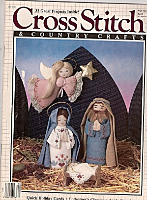 Cross Stitch counry crafts -  Sept. Oct 1987 (Image1)