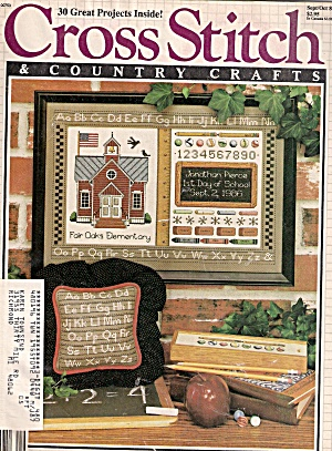Cross Stitch country crafts -  Sept/Oct. 1986 (Image1)