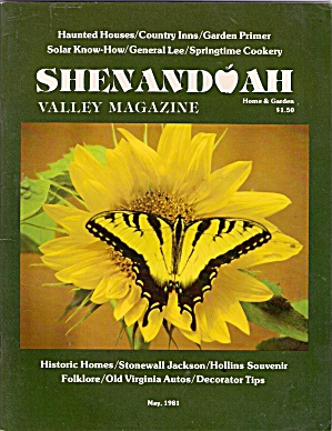 Shenandoah Valley Magazine - May 1981