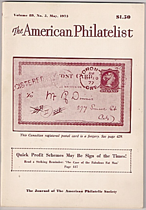 The American philatelist -  May 1975 (Image1)