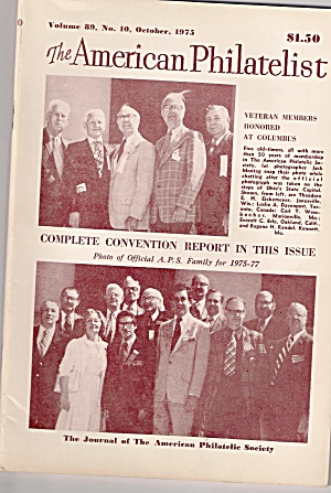 The American Philatelist - October 1975