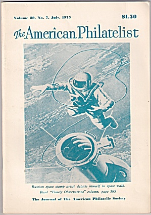 The American Philatelist -  July 1975 (Image1)