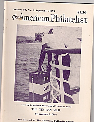 The American Philatelist - September `1975
