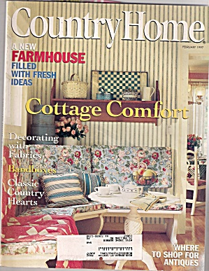 Country Home - February 1997