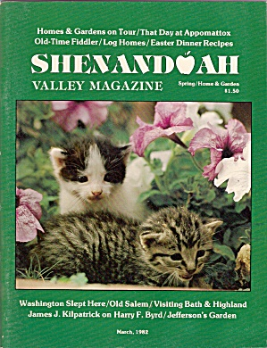 Shenandoah Valley Magazine - Spring March 1982