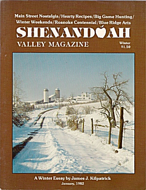 Shendoah Valley Magazine - January 1982 - Winter