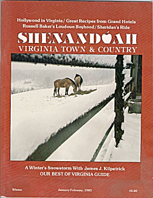 Shendoah Virginia Town & Country - Jan-feb 1983