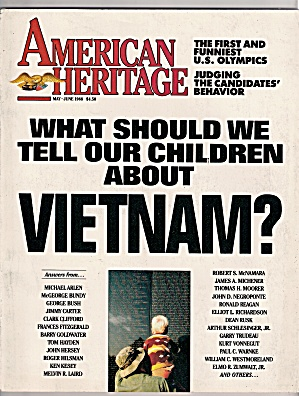 American Heritage - May-june 1988