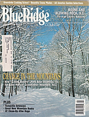 Blue Ridge Country - January - February 1990