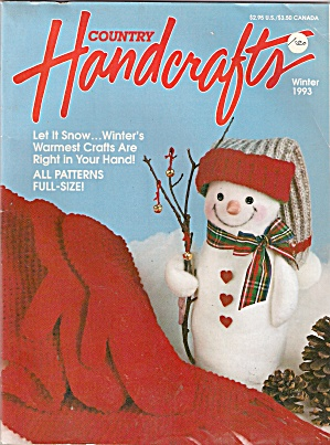 Country Handcrafts - Winter 1993