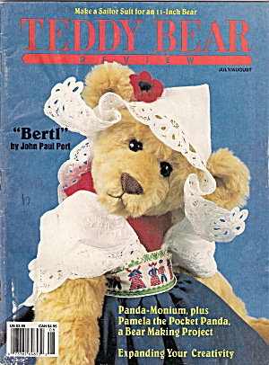 Teddy Bear Review - Julyaugust 1991