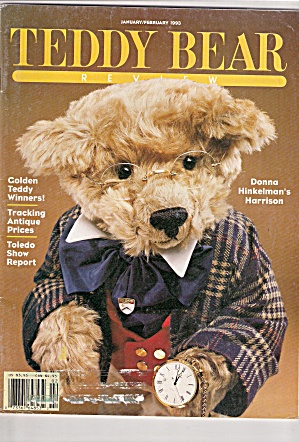 Teddy Bear Review -january/february 1993