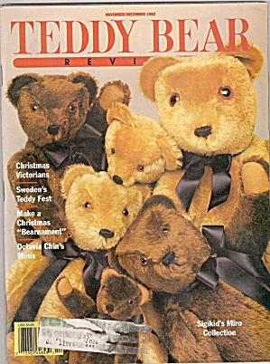 Teddy Bear Review - November/december 1992
