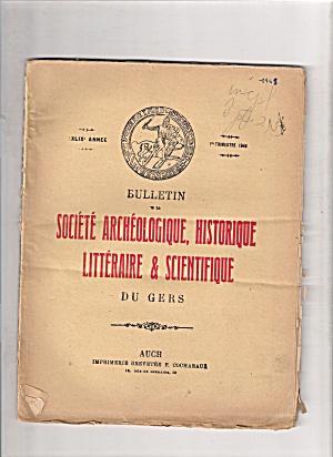 Societe Archeologique, Historique - 4th trimestre 1949 (Image1)