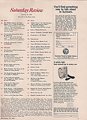 Saturday Review -  January 18, 1969 (Image1)