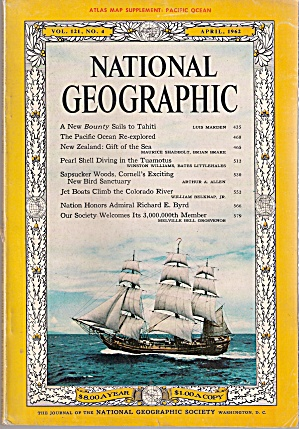 National Geographic - April 1962 (Image1)