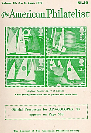 The American Philatelist - June 1975 (Image1)