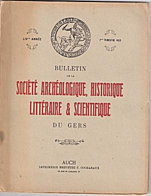 Societe Archeologique,historique -  2nd trim. 1953 (Image1)