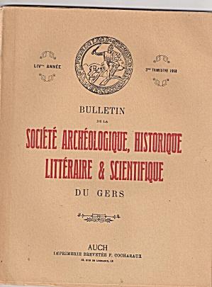 Societe Archeologique,Historique - 3rd trim 1953 (Image1)