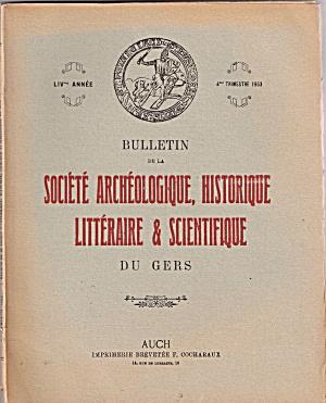 Societe Archeologique, Historique Litrteraire & scienti (Image1)