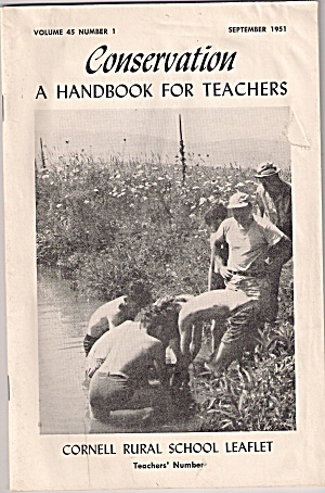 Conservation = Cornell Rural School Leaflet - Sept.1951