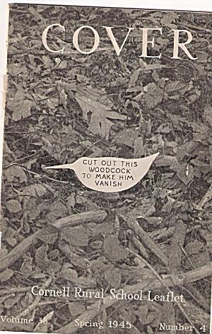Cover- Cornell Rural school leaflet - 1945 Sprin g (Image1)