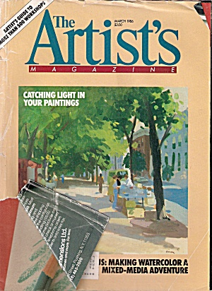 Artist's magazine March 1986 (Image1)