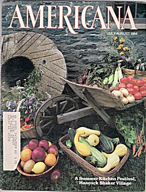 Americana magazine - July/August 1984 (Image1)