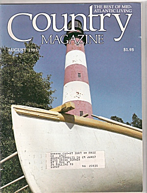Country magazine -  August 1985 (Image1)