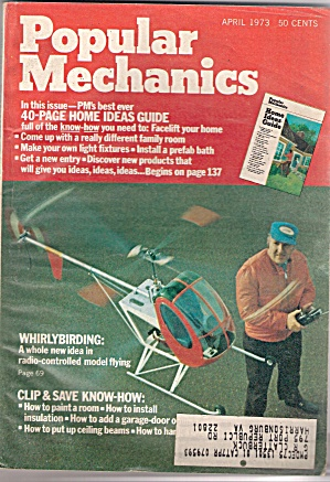 Popular Mechanics -  April 1973 (Image1)