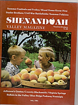 Shenandoah valley magazine -  July 1981 (Image1)