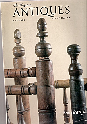 the magazine  ANTIQUES  May 1985 (Image1)