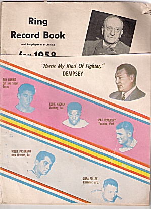 RING RECORD BOOK -  1958 (Image1)