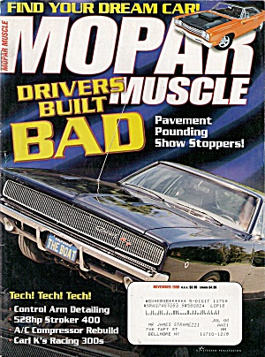 Mopar Muscle -  November 1999 (Image1)