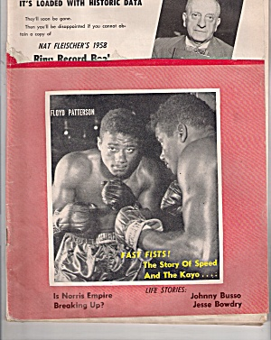 The Ring magazine - July 1958 (Image1)