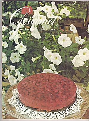 Gourmet Magazine - August 1971 (Image1)