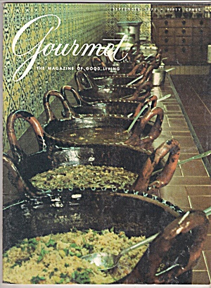 Gourmet Magazine - September 1971 (Image1)