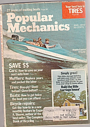 Popular Mechanics - March 1972 (Image1)