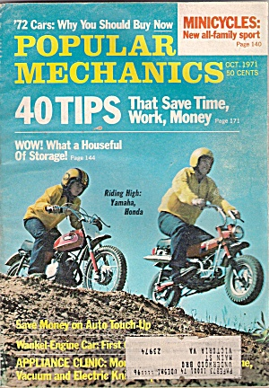 Popular Mechanics - October 1971 (Image1)