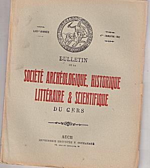 Societe Archeologique. historique - 4th trimestre 1952 (Image1)
