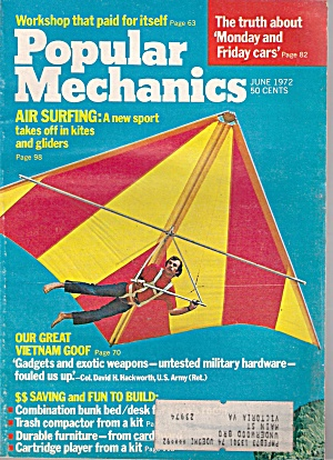 Popular Mechanics - June 1972
