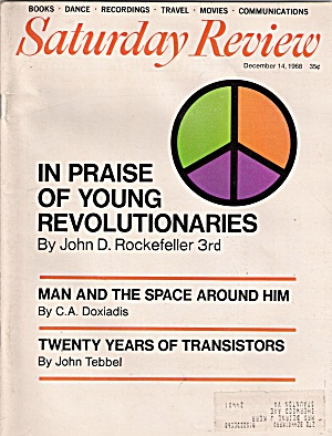 Saturday review - Deceber 14, 1968 (Image1)