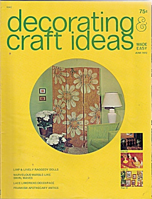 Decorating & craft ideas -  June 1972 (Image1)