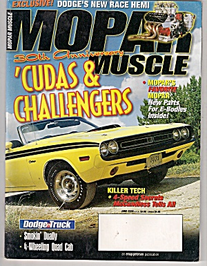 Mopar Muscle - June 2000