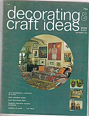 Decorating & craft ideas September 1972 (Image1)