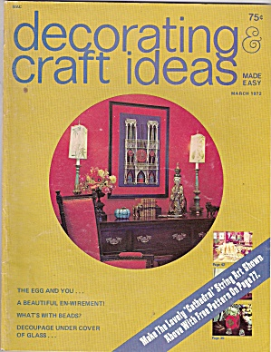 Decorating craft ideas made easy - March 1972 (Image1)