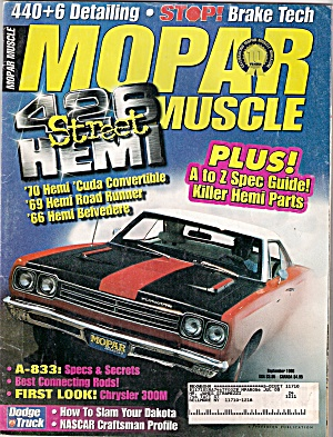 Mopar Muscle - September 1998