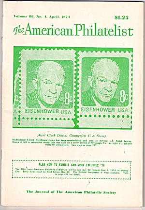The American Philatelist - April 1974 (Image1)