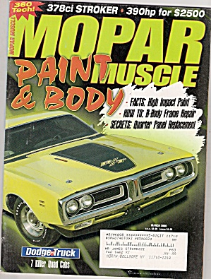 Mopar Muscle - March 2000